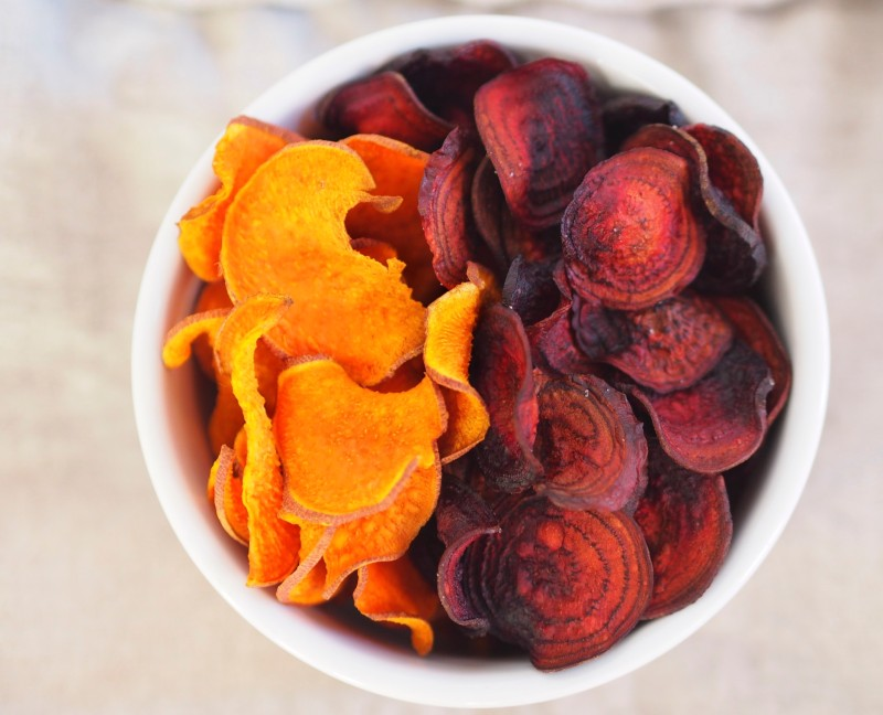 Sweet Potato & Beet Chips