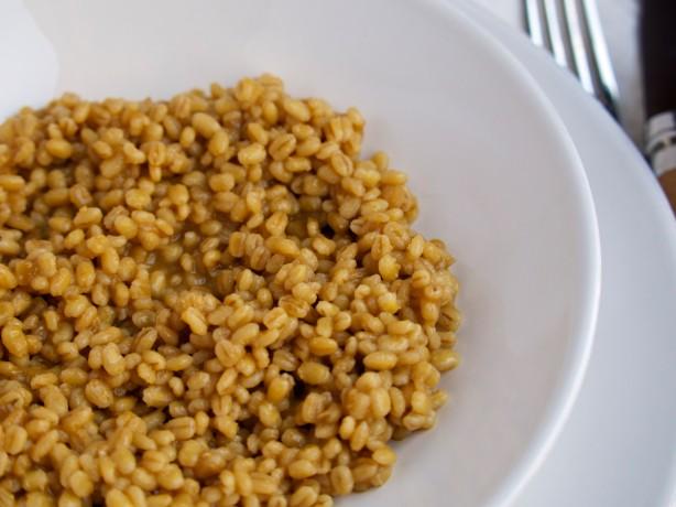 Lemony Barley Risotto