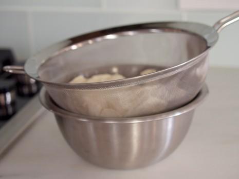Straining Silken Tofu