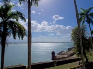 San Juan Bay from Casa Blanca