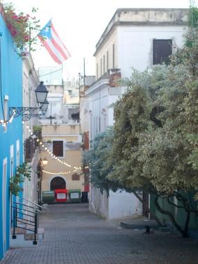 Dusk in Old San Juan