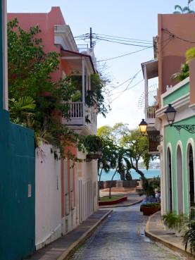 Las Monjas Street
