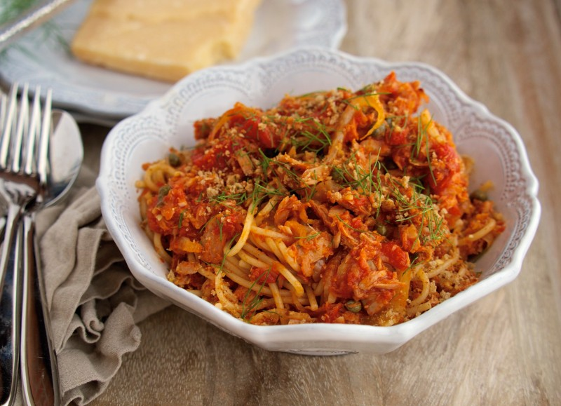 Pasta with Lean Protein, Fennel & Citrus