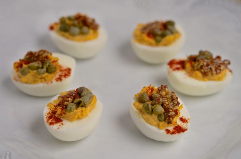 Smokey & Savory Deviled Eggs
