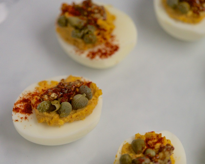Savory & Smokey Deviled Eggs
