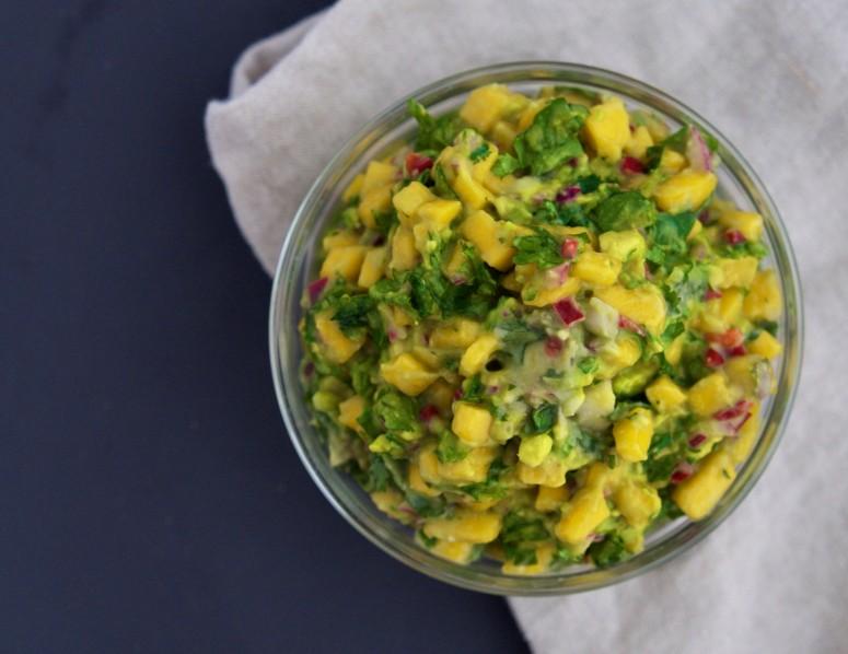 Mango-Chili Guacamole