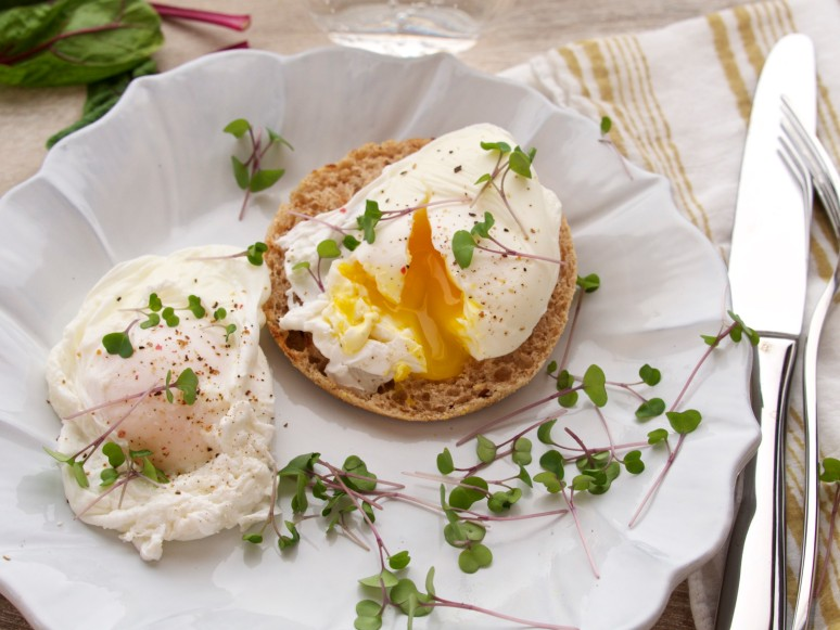 Paul's Perfectly Poached Eggs