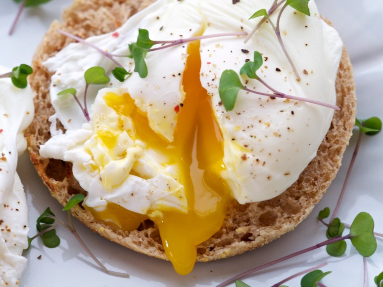 Paul's Perfectly Poached Egg with Runny Yolk