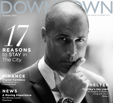 Downtown Magazine Summer 2015 Cover