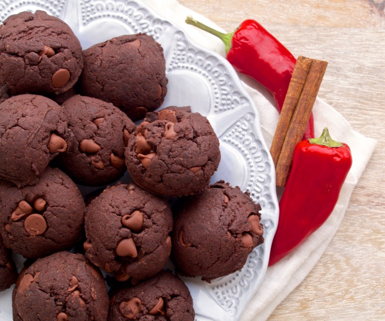 Double Chocolate Mexican Wedding Cookies