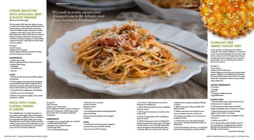 Spring Recipes for NY Presbyterian : Whole Foods Events P 2-3