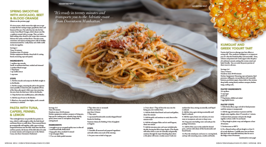 Spring Recipes for NY Presbyterian : Whole Foods Events P 2-3