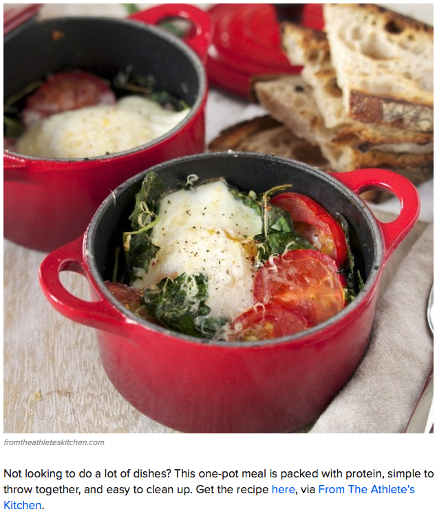 BuzzFeed / Baked Eggs with Kale