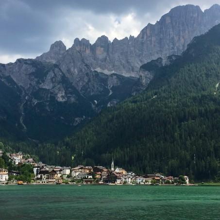 Alleghe, Italy, TransAlp 2015
