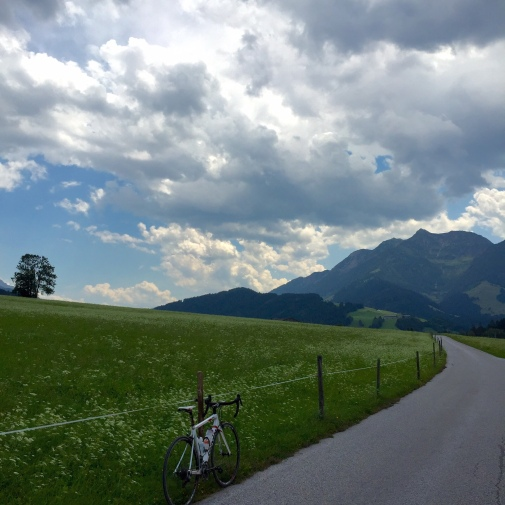Riding outside of Ruhpolding, Germany