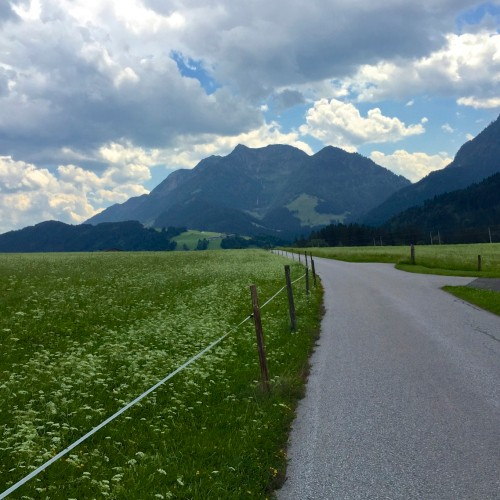 Riding near Leogang, Austria
