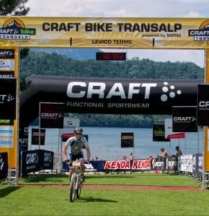 Stage 6 Finish, TransAlp 2015