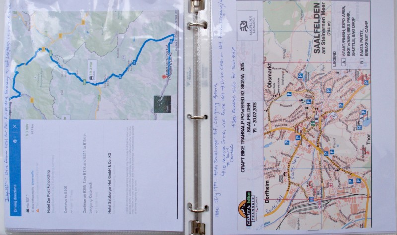 TransAlp Logistics Binder