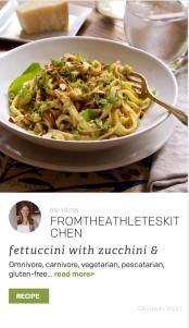 TheFeedFeed Cuesa Partner Feed Fettuccini