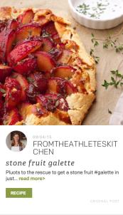 TheFeedFeed Cuesa Partner Feed Pluot Galette