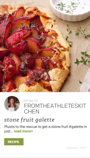 TheFeedFeed Cuesa Partner Feed Pluot Galette