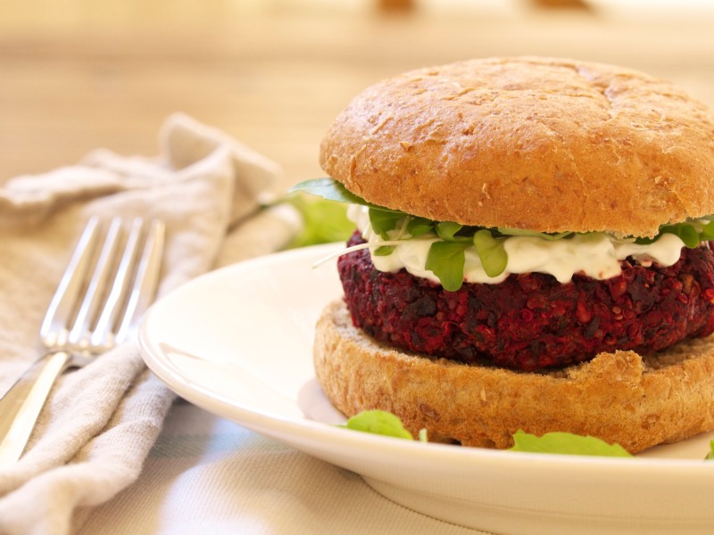 Protein Packed Veggie Burger