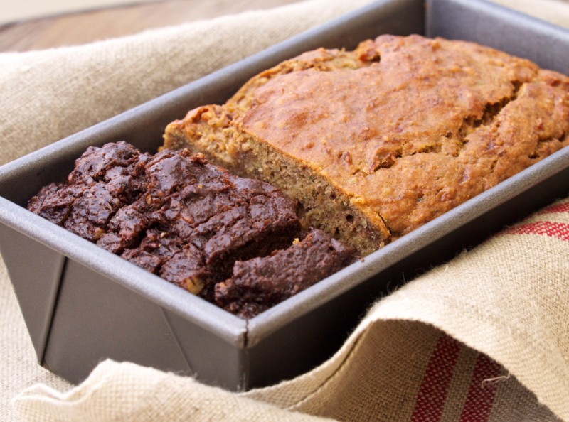 Zucchini Bread Two Ways