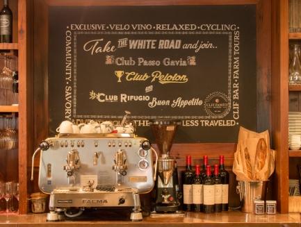 Coffee Bar / The Tasting Room at Velo Vino