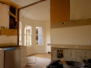 Kitchen Looking into Breakfast Room Ongoing