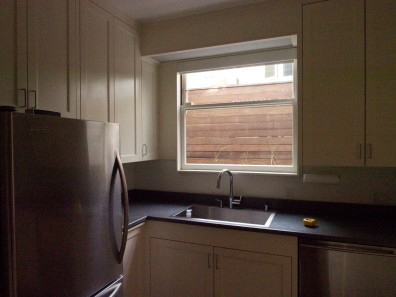 Kitchen Window View, Before