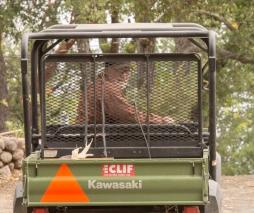 Bradley Crawford, Farm Manager at Clif Family Farm