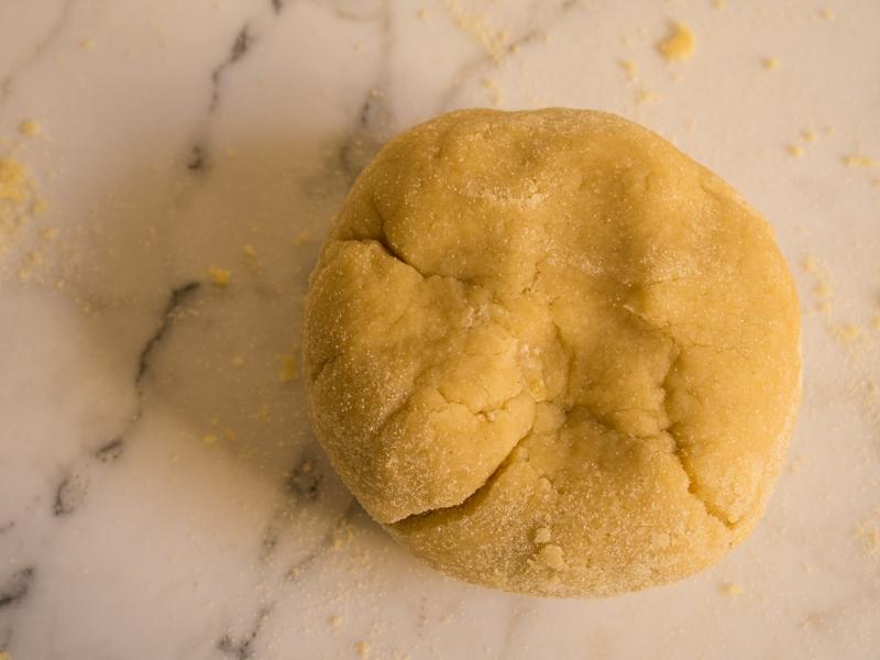 Pasta Dough Taking Shape