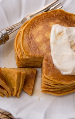 Hungry Fan™ Pumpkin Spice Pancakes Featured Image III