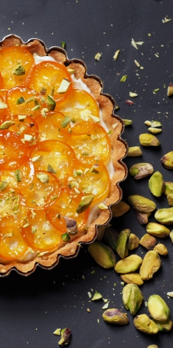 Kumquat and Greek Yogurt Tart Featured Image