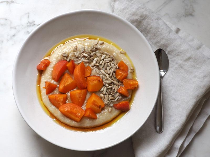Sweet & Savory Brown Rice Porridge