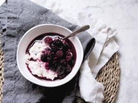 Blackberries-&-Muesli-Painting